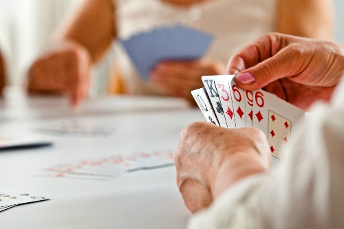 I have difficulty using standard playing cards