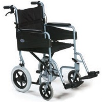 Image of the Very Lightweight Wheelchair (Orange or Blue)