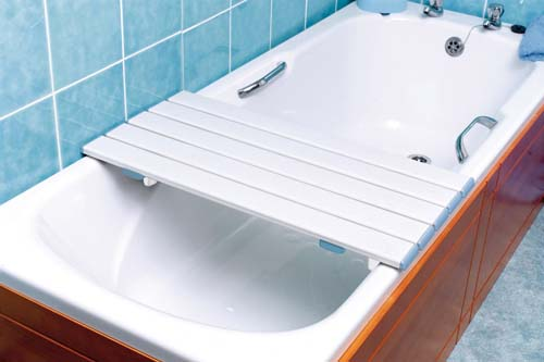 Nuvo Slatted Shower Board - 27.5in or 70cm