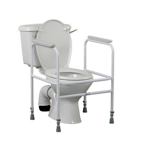 Days Adjustable Steel Toilet Surround
