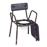 Calder Commode with Extending Legs