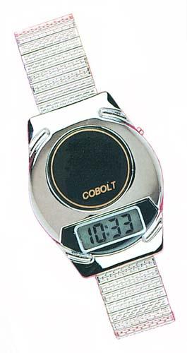 W4 talking alarm wristwatch