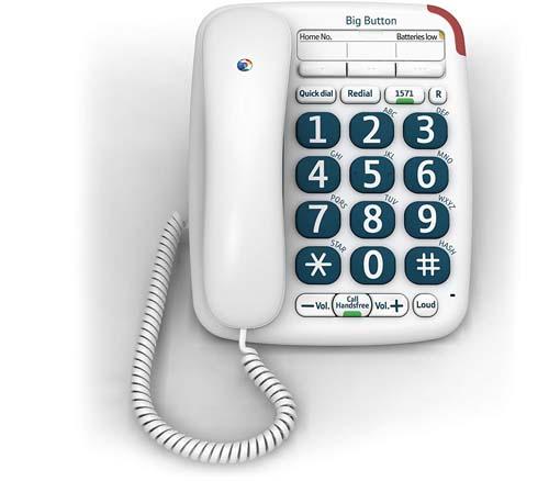 BT Big Button 200 Handsfree telephone