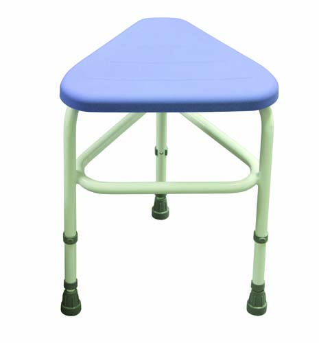 Image of the Belmont PU Corner Shower Stool
