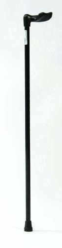 Image of the Aluminium Palm Grip Walking Stick - RIGHT
