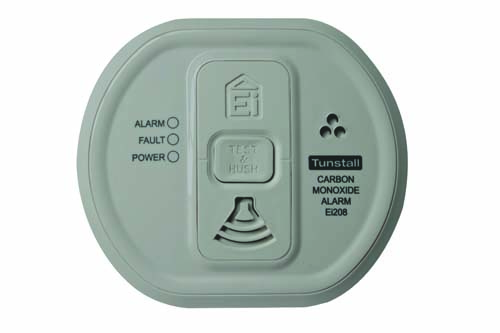 Image of the Tunstall Carbon Monoxide Detector (wireless)