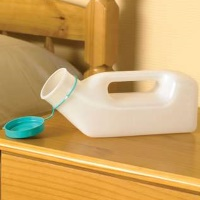 Image of the 1 Litre Male Urinal Bottle - Retail pack