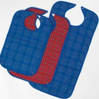 Image of the Large Everyday Mealtime Protector Blue