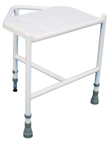 Aidapt Penbury Height Adjustable Corner Shower Stool