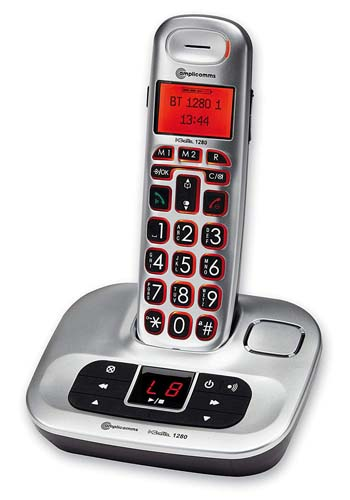 BigTel 1280 Amplified Cordless Telephone