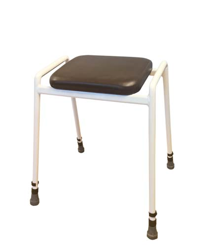 Basic Perching Stool (without back or arms) - brown