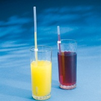 Image of the Pat Saunders One-Way Drinking Straws-Pack of 1 Small (180mm) and 1 Large (250mm)