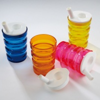 Sure Grip Non-Spill Feeding Cup - Pack of 4