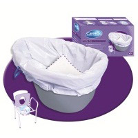 CareBag Commode Liner 1 x 20 Bags
