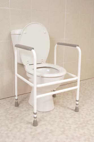 Economy Toilet Frame (Height Adjustable)