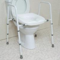 Mowbray Toilet Seat & Frame Floor fixed - Width Adjustable