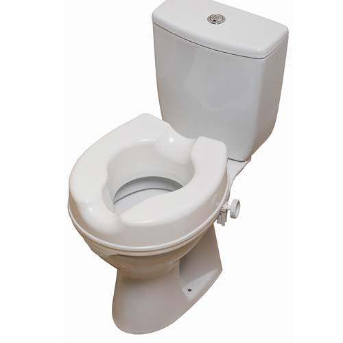 2in Raised Toilet Seat