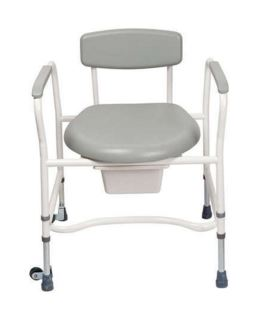 Commode - Bariatric - Adjustable Height