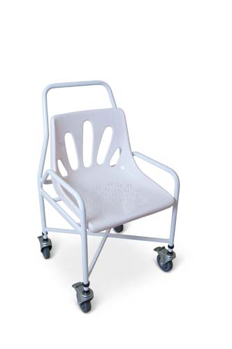 Shower Chair with fixed arms