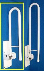 Homecraft Devon Folding Support Rail Short 20in (55cm)